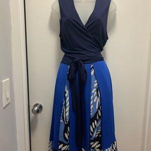 Diane Von Furstenberg wrap dress